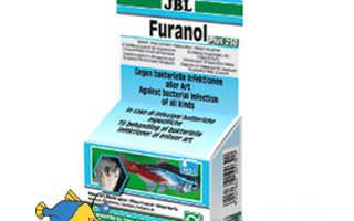 Лекарство для аквариумных рыб JBL Фуранол 2 ( JBL Furanol 2 ) – инструкция по применению